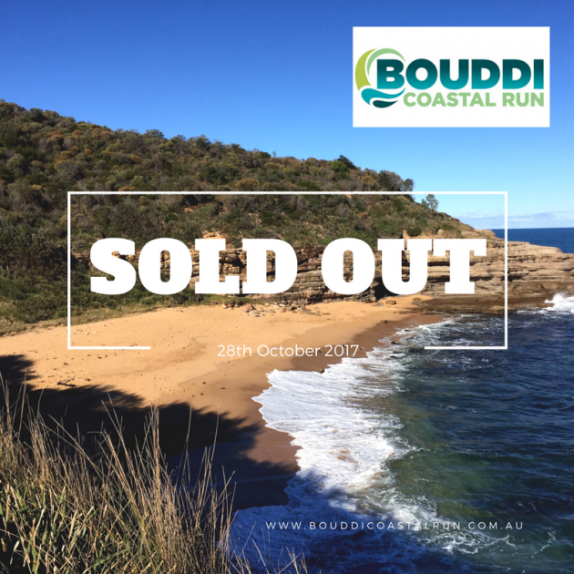 Bouddi Coastal Run FB Post SOLD OUT